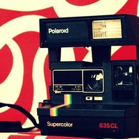 Polaroid 635CL Supercolor vintage camera