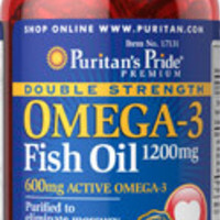 3 Bottle Pack - Double Strength Omega-3 Fish Oil | 1200 mg | 90 soft gels