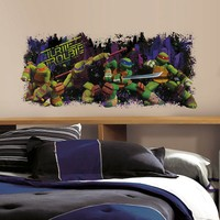 Teenage Mutant Ninja Turtles Trouble Peel & Stick Wall Decal
