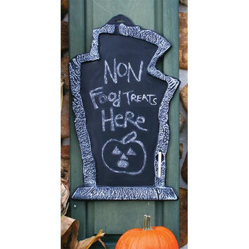 Halloween Decorations: Tombstone 22 In Chalk Board