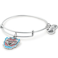 Dc Comics Justice League Wonder Woman Warrior Charm Bangle Alex and Ani Gold