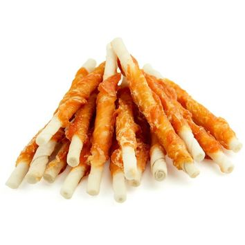 Pet Cuisine Natural Treats for Dogs Puppy Snacks Chews Chicken & Pigskin Stix 340g