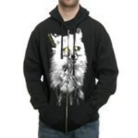 Brand New - Daisy Fox Zip - Sweatshirt