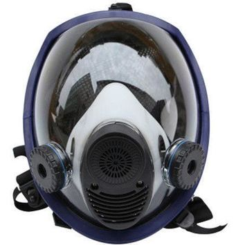 For 6800 Anti-dust Full Face Gas Mask Facepiece Respirator Painting Spray