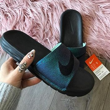 Nike Women Casual Fashion Sandal Slipper Shoes