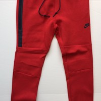 KUYOU Nike Tech Fleece Joggers Red 545343-672