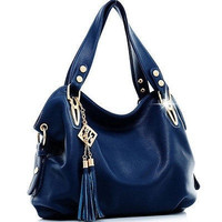 Guaranteed 100% Luxury Handbag Tote Leather Hobo Shoulder Bag Messenger Bags+6 Color [7941491463]