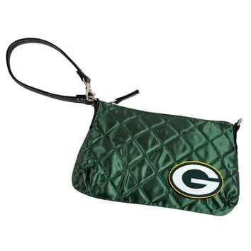 Green Bay Packers NFL Quilted Wristlet (Dark Green)