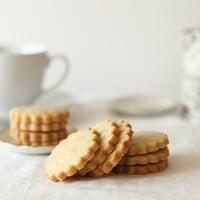 Honey Lavender Shortbread Cookies by whimsyandspice on Etsy