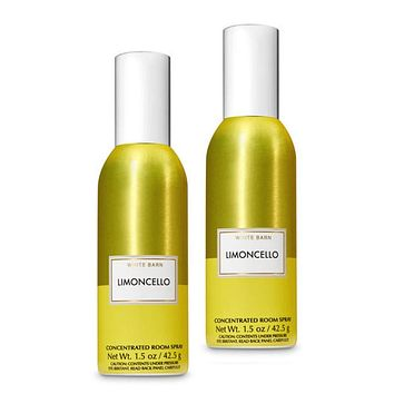 Bath and Body Works 2 Pack Limoncello Concentrated Room Spray. 1.5 Oz.
