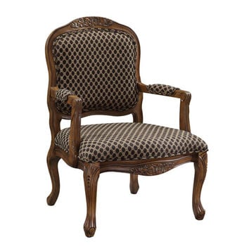 Coast to Coast Imports  50614 Coast to Coast Accents Patterned Accent Chair
