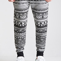Striped Tribal Print Sweatpants