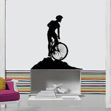 Vinyl Decal Wall Stickers Bike Biker Extreme Sport Decor For Living Room Unique Gift (z1689)