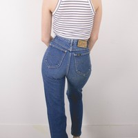 Vintage (XS) Lee High Waisted Denim Jeans
