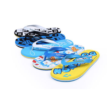 Cool Cartoons Summer Beach Shoes Anti-skid Slippers [4918325764]