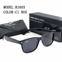 Brands High quality Women sunglasses Color polarized light Mirror Plastic frame Sunglasses men drive Outdoor activities