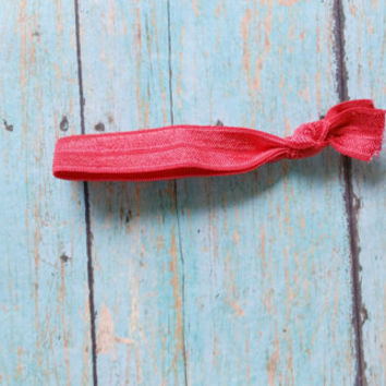 Red Yoga Hair Tie / Yoga Hair Ties / Workout Accessories / Yoga Apparel / Affordable Hair Ties / Gym Apparel / Affordable Gym Wear