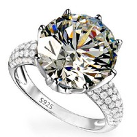 YaYI Fashion Women's Jewelry Ring CZ  Silver Color  Engagement Rings wedding Rings Party Rings gift