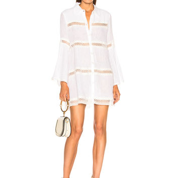 Alexis Elvine Dress in White | FWRD