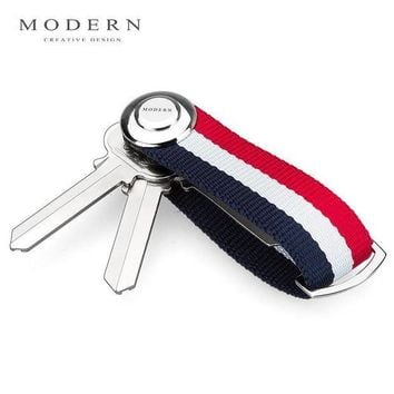 ICIKFV3 Modern - Brand New 2017 Smart Key Wallet EDC Gear Key Organizer Holder Keychain Famous Designer Creative Gift