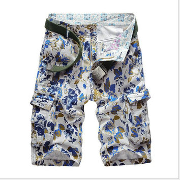 Camouflage Casual Plus Size Hot Sale Pants [6541435651]