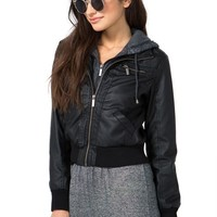 Mix It Up Hooded Bomber