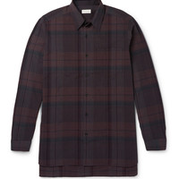 Dries Van Noten - Checked Cotton Shirt