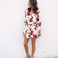 Kiss From A Rose Romper