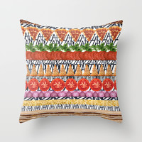 Pizza - all in  the Pizza Throw Pillow by Rococco-LA