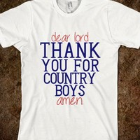 Thank You Lord, Country Boys