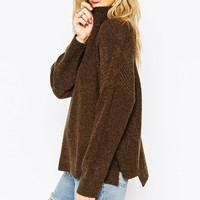ASOS Sweater In Mohair