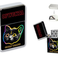 Simply Odd Future OFWGKTA Golf Wang Flip Top Lighter Collection + Gift Box