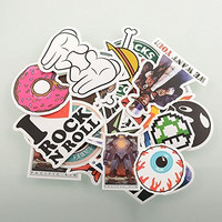 ABOEL - (Pack of 50) Stickers Skateboard Snowboard Vintage Vinyl Sticker Graffiti Laptop Luggage Car Bike Bicycle Decals mix Lot Fashion Cool