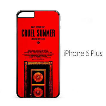 Kanye West Cruel Summer iPhone 6 Plus Case