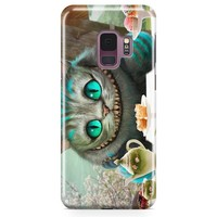 Alice In Wonderland Cat Samsung Galaxy S9 Plus Case | Casefantasy