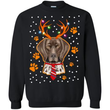 Funny Labrador Retriever with Antlers Christmas Gifts