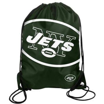 Forever Collectibles NFL New York Jets Drawstring Backpack