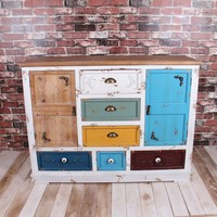 Vintage country style sideboard cabinet