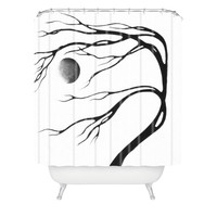Madart Inc. Modern Dance Moon Song Shower Curtain