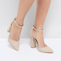 Truffle Collection Pointed Block Heels at asos.com