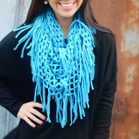 The Beautiful Blue Sky Infinity Scarf: Multi | Hope's