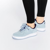Nike Air Force 1'07 Light Grey Suede Trainers at asos.com