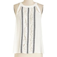 ModCloth Boho Mid-length Sleeveless You Can Call Me Alfresco Top