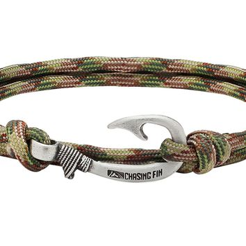 Multicam Fish Hook Bracelet