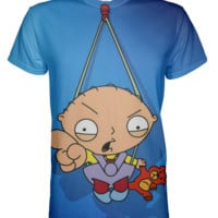 Family Guy Stewie All Over Print T-shirt