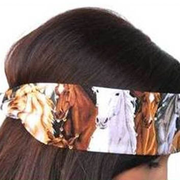 Hold Your Horses Equestrian Bandana