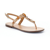 Antonio Melani Kellsea Sandals - Natural/Sand Gold