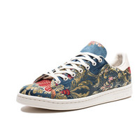 PHARRELL X ADIDAS ORIGINALS STAN SMITH JACQUARD - CERULEAN | Undefeated