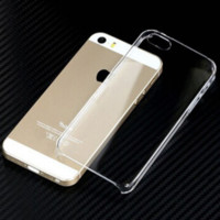 For iPhone 5 5s Glossy Clear Transparent Ultra Thin Hard Plastic Case Cover Skin