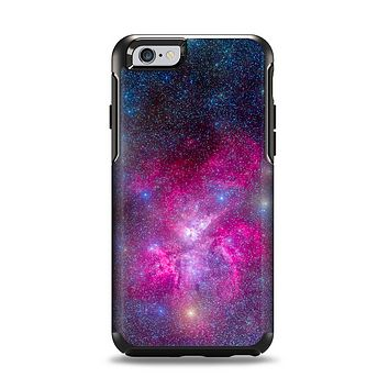 The Pink & Blue Galaxy Apple iPhone 6 Otterbox Symmetry Case Skin Set